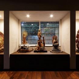 姫路・天満の家 離れ (仏像の展示コーナー)