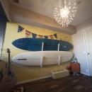 メゾネットをリフォームで西海岸スタイルにの写真 遊び心のある洋室