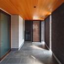 摂津の家の写真 玄関ポーチ