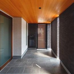 摂津の家 (玄関ポーチ)
