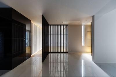 ホール (摂津の家)