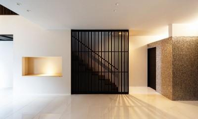 摂津の家 (玄関ホール)