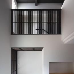 摂津の家 (玄関ホール吹き抜け)