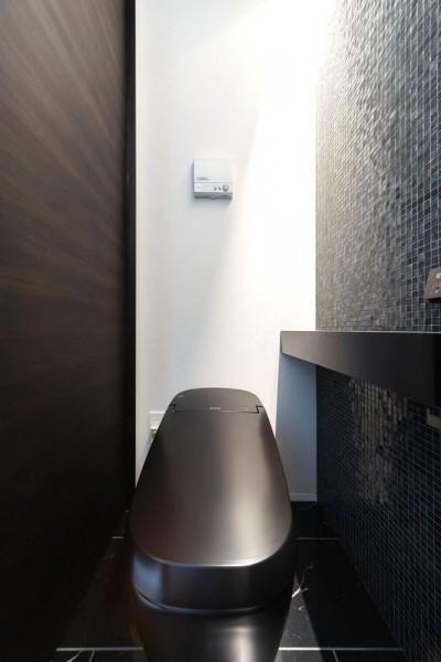 客用トイレ (摂津の家)