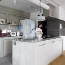 S邸-素材選びにこだわって、シンプルな家が個性的にの写真 キッチン