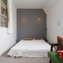 S邸-素材選びにこだわって、シンプルな家が個性的にの写真 ベッドルーム