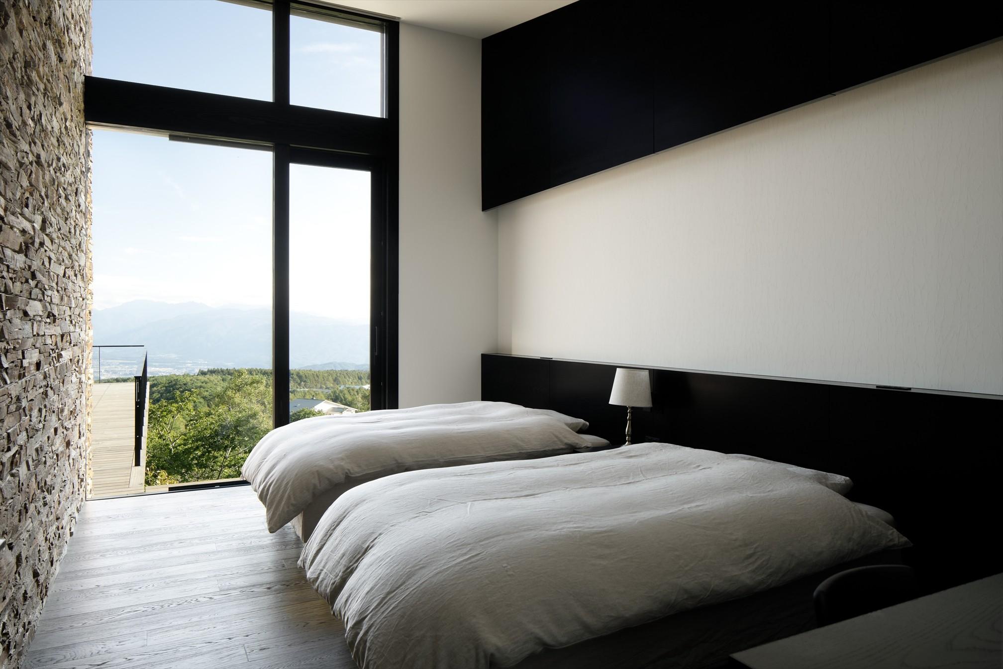 ベッドルーム事例:寝室(令空庵)
