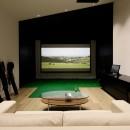 令空庵の写真 シミュレーションゴルフ