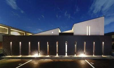 外観・夜景|摂津の家