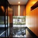 VILLA ROKKOUの写真 黒御影の玄関
