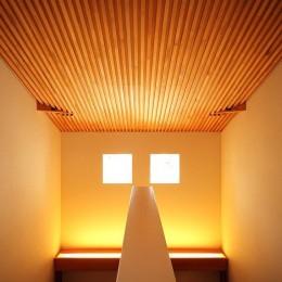 IN・EX・PLUS (階段室の書棚)