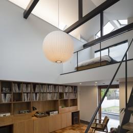 建もの探訪で放送 レコード棚のある家 OUCHI-43
