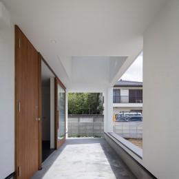 建もの探訪で放送 レコード棚のある家 OUCHI-43 (玄関ポーチ)