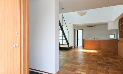 建もの探訪で放送 レコード棚のある家 OUCHI-43 (玄関土間)