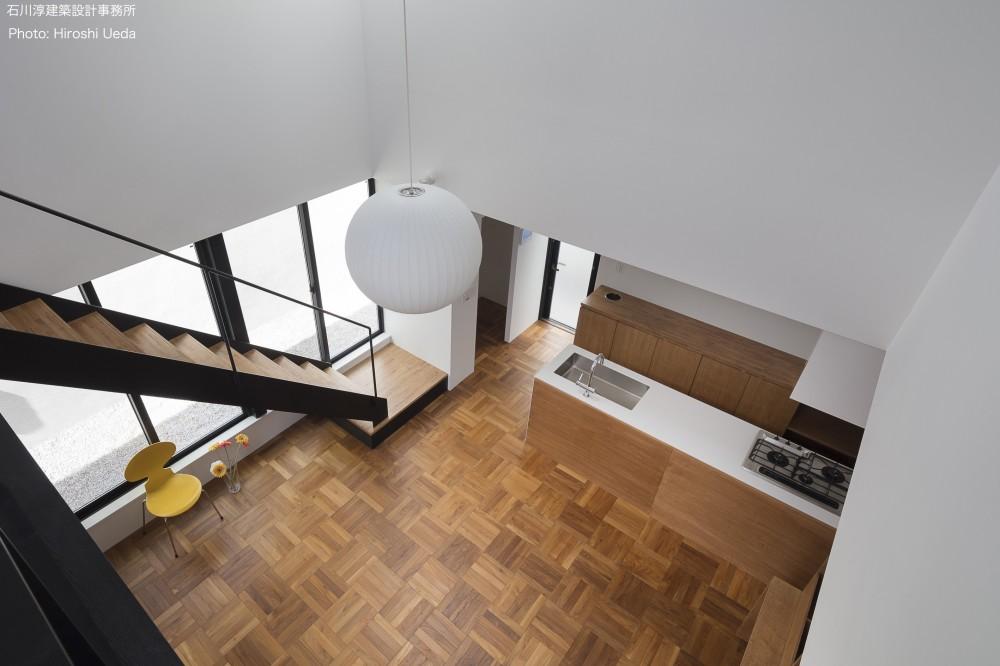 建もの探訪で放送 レコード棚のある家 OUCHI-43 (吹抜見下ろし)