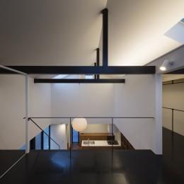 建もの探訪で放送 レコード棚のある家 OUCHI-43 (2階寝室夜景)