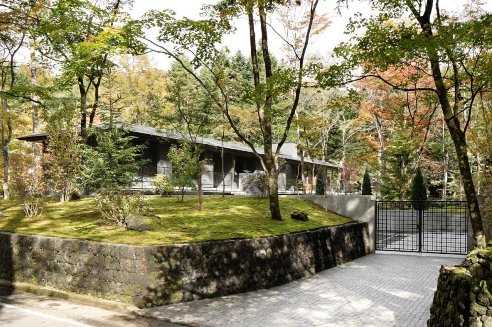 061軽井沢Hさんの家 (外観)