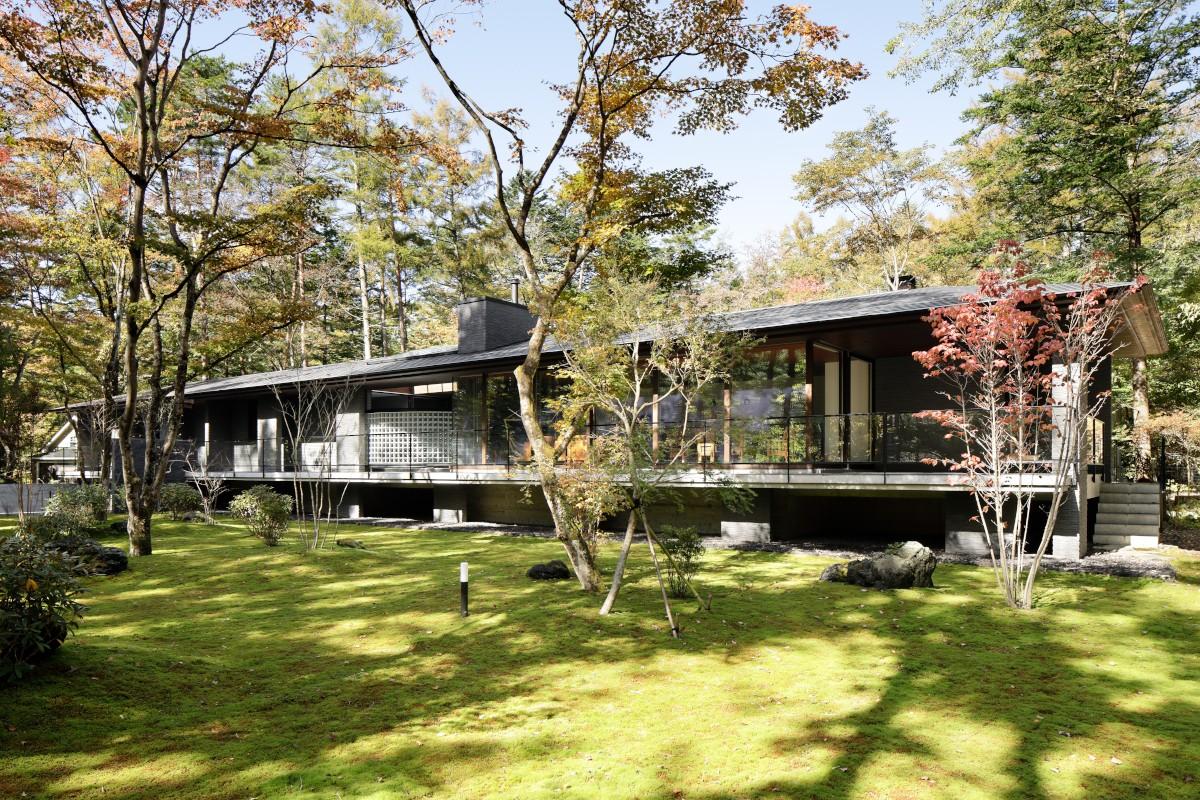 外観事例:外観(061軽井沢Hさんの家)