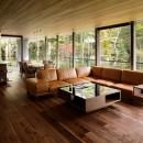 061軽井沢Hさんの家の写真 リビングダイニング
