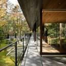 061軽井沢Hさんの家の写真 テラス