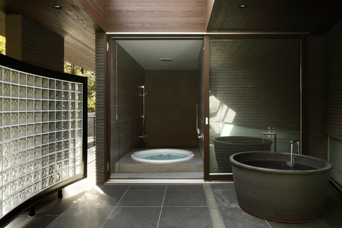 バス/トイレ事例:浴室(061軽井沢Hさんの家)