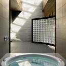 061軽井沢Hさんの家の写真 浴室