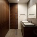 061軽井沢Hさんの家の写真 洗面脱衣室