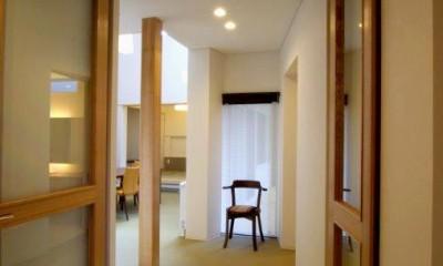 『house @ tk』家族の絆を深めるモビリティハウス (車椅子対応住宅)