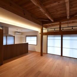 美浜の家(リノベーション) (LDK)