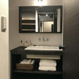 洗面室 (男臭さのインダストリアル)