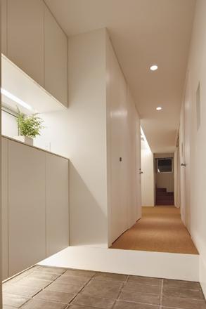 八雲の家の部屋 玄関