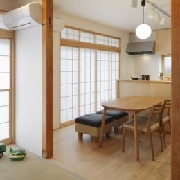 三鷹K邸リノベーション (ダイニング・キッチン)