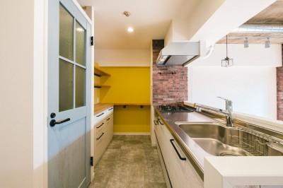 キッチン (個性が光るテイストMIX空間)