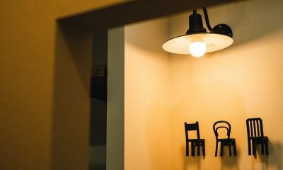 個性が光るテイストMIX空間 (玄関)