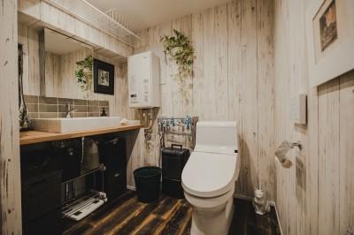 洗面室 (男のHOBBY LIFEを満喫)