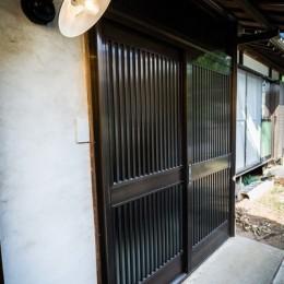 昭和レトロモダン (玄関)
