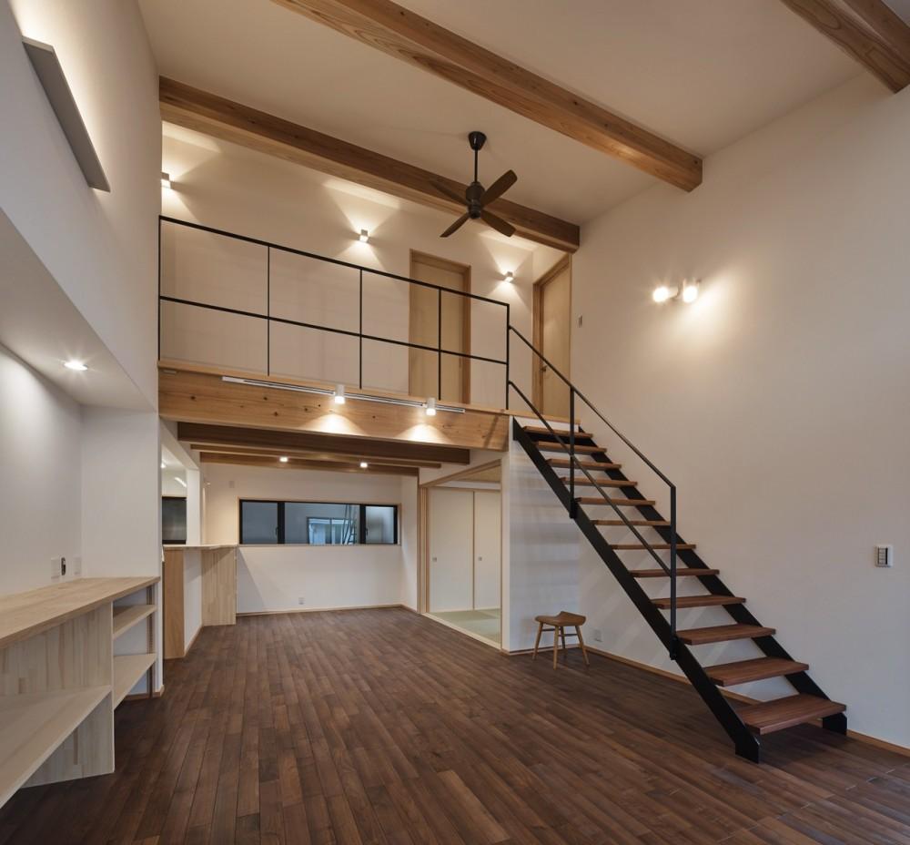 LDK (北下馬野町の家 新築工事)