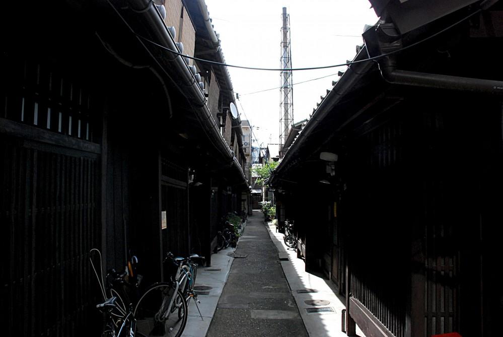 あじき路地 改修工事 (あじき路地)