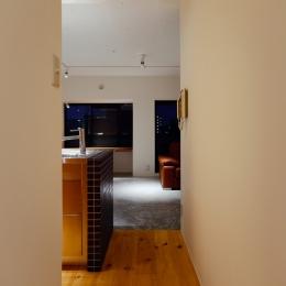 denim601 (廊下から見たリビング)