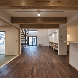 ダイニング (北下馬野町の家 新築工事)