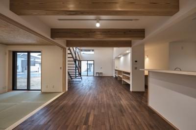 北下馬野町の家 新築工事 (ダイニング)
