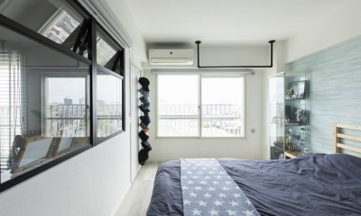 ベッドルーム|AQUA-海と棲む。アクアリウムのある暮らし