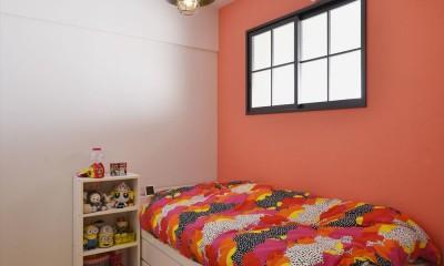 子ども部屋|W邸_収納上手な工夫と家族の笑顔