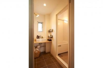 洗面室/浴室 (新しくて懐かしい。家族の新生活に寄り添う「団地リノベ」)