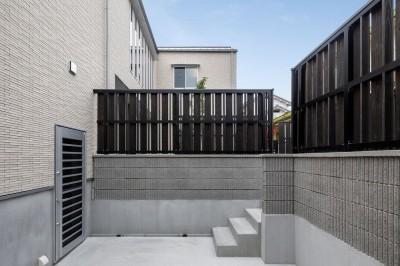 富田林の家 (外観・ガレージ)
