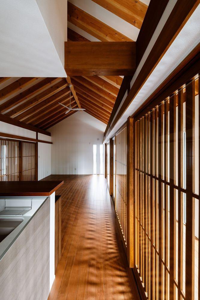富田林の家 (キッチンとサンルーム2)