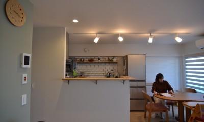 50平米という限られた空間を広く見せるマンションリノベーション