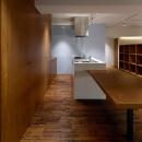 リボーンキューブの住宅事例「Doux パリのおしゃれなアパルトマンをイメージした ワンルーム空間リノベ」