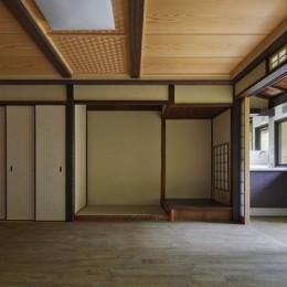 中京の家#京町家大規模リノベーション (蘇った和室)