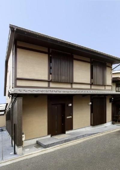 高倉通りの家#1つ1つの部屋にこだわった家 (外観)